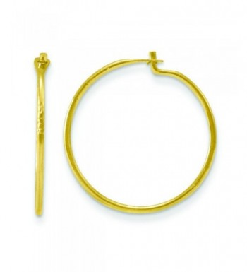 14k Maddi Endless Hoop Earrings