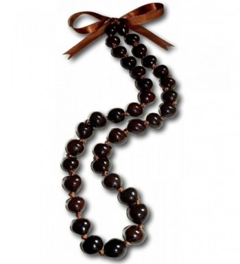 Native Treasure Brown Necklace Chunky