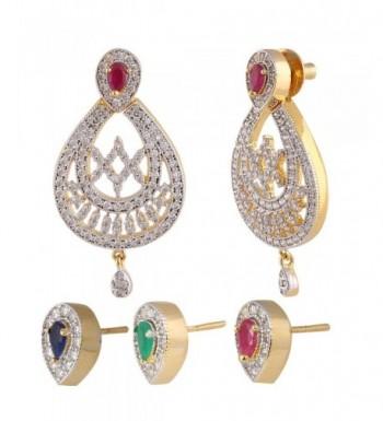 Swasti Jewels American Interchangable Earrings