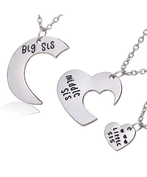 Family Jewelry Middle Pendant Necklace