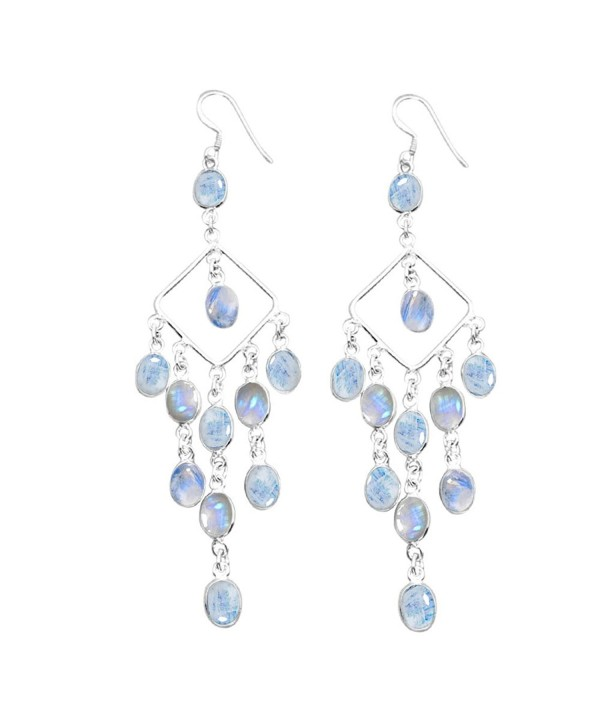 22 00ctw Moonstone Silver Sterling Jewelry