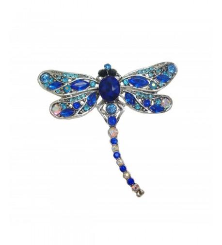 TTjewelry Little Dragonfly Rhinestone Crystal