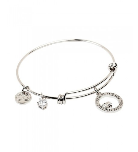 Expandable Bracelet Inspirational Stackable Bangle