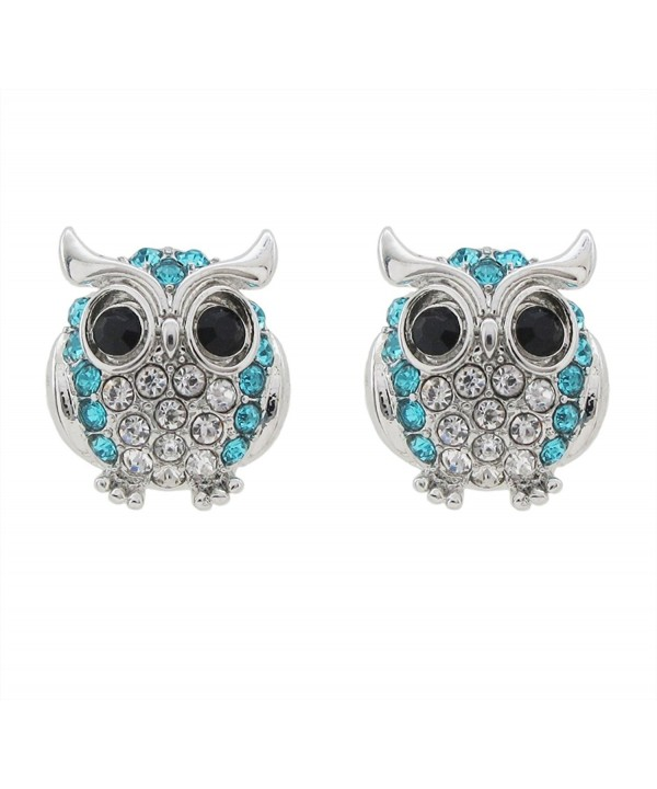 DaisyJewel Blue Radiance Crystal Earrings