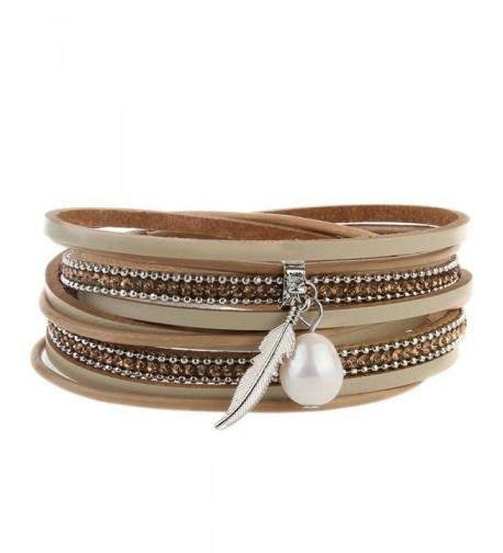 Leather Bracelets Braided Bracelet Foundation