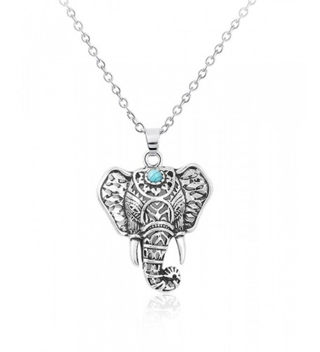 Cyntan Vintage Elephant Necklace Jewelry