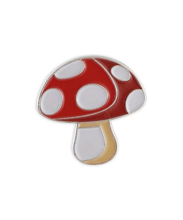 Mushroom Toadstool Emoji Shroom Enamel
