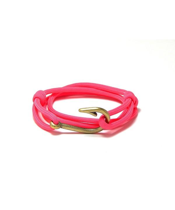 Womens Nautical Bracelet Brass Adjustable