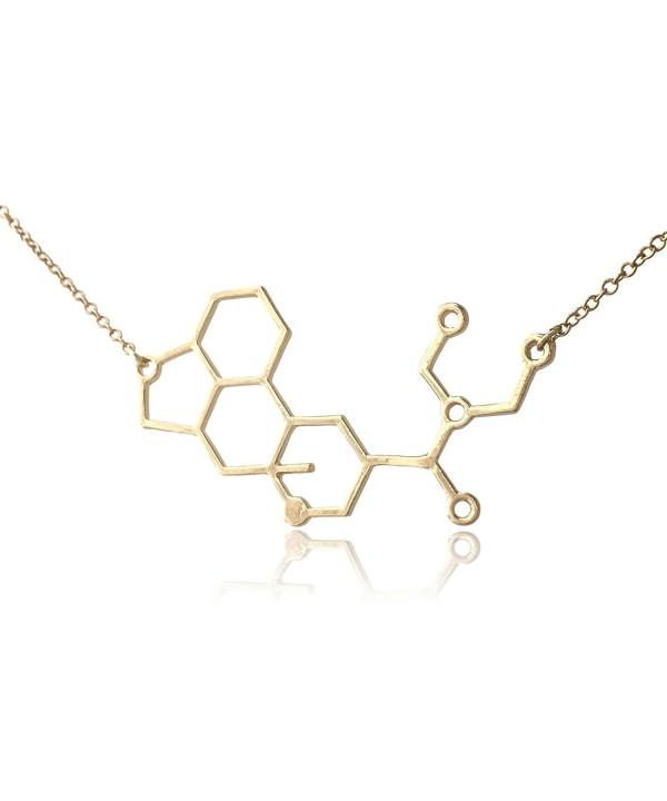 COS TM LSD Molecule Necklace