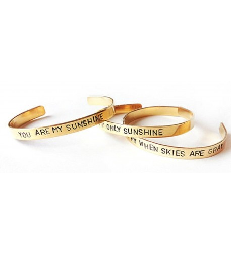stacking bracelets sunshine inspirational daughter