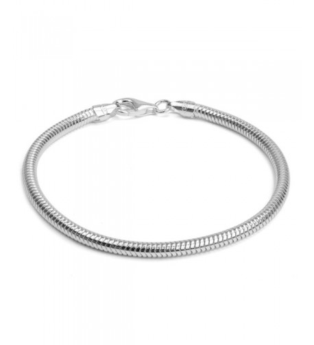 Sterling Silver Italian Snake Inches