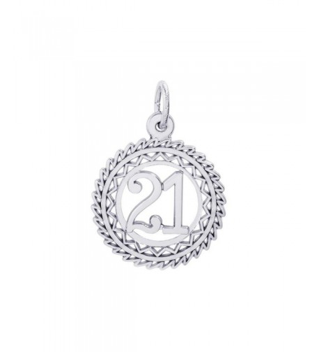 Rembrandt Charms 21 Number Charm