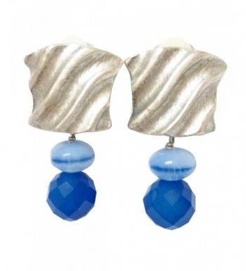 Shaune Bazner Sterling Silver Plated Earrings