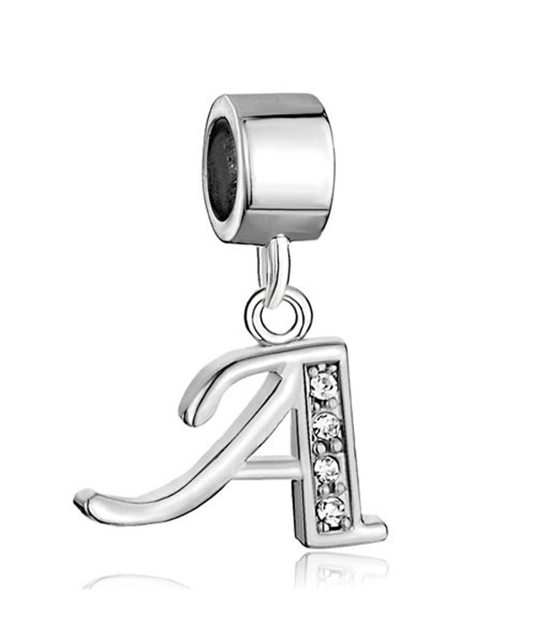 CharmSStory Alphabet Initial Synthetic Bracelets