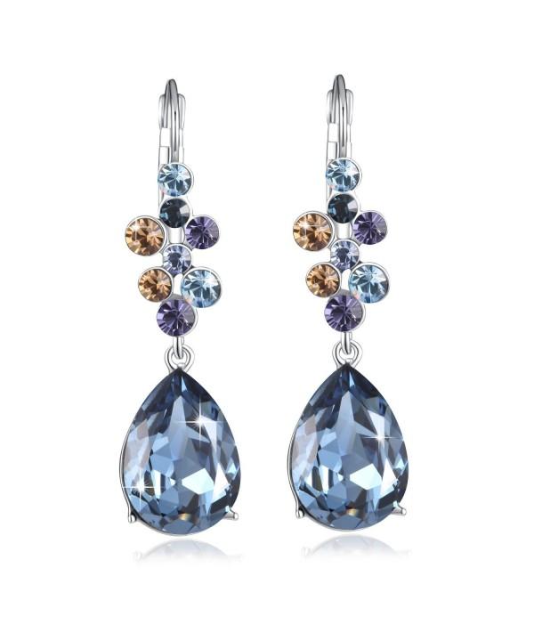 Earring PLATO Earrings Swarovski Crystals