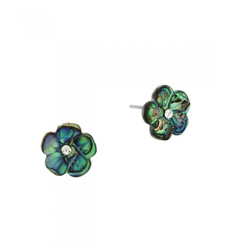 Liavys Flower Fashionable Shell Earrings