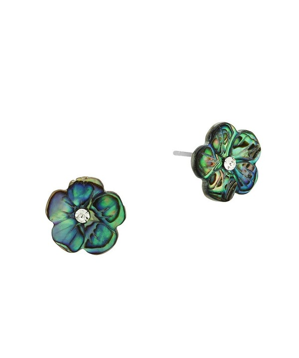 Liavys Flower Fashionable Shell Earrings