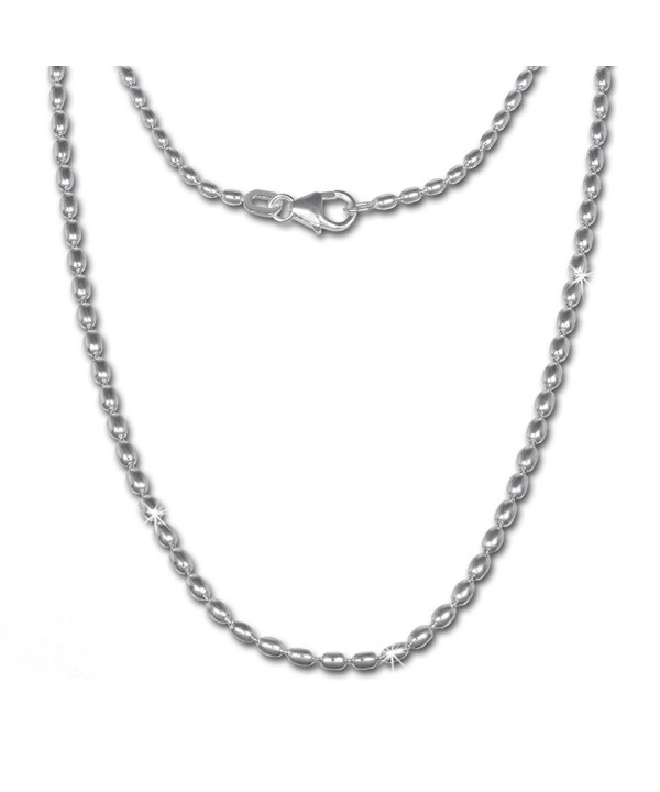 SilberDream olive chain Necklace Sterling SDK21370