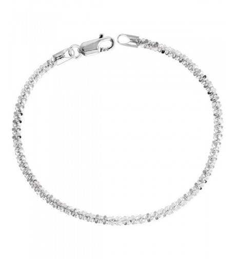 Sterling Silver Sparkle Necklace Diamond