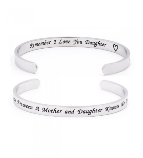 Remember Love You Daugther Bracelet