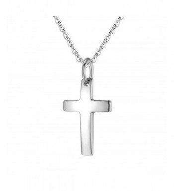 MgTree Stainless Polished Pendant Necklace