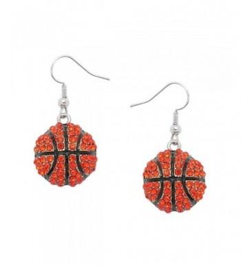 Liavys Basketball Fashionable Earrings Sparkling