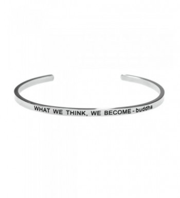 What Think Become Inspirational Stainless