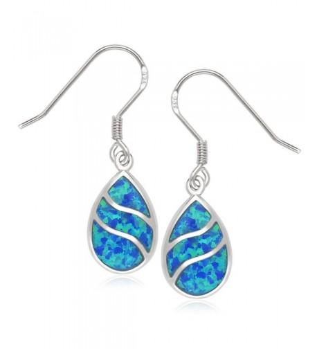 Beaux Bijoux Sterling Teardrop Earrings