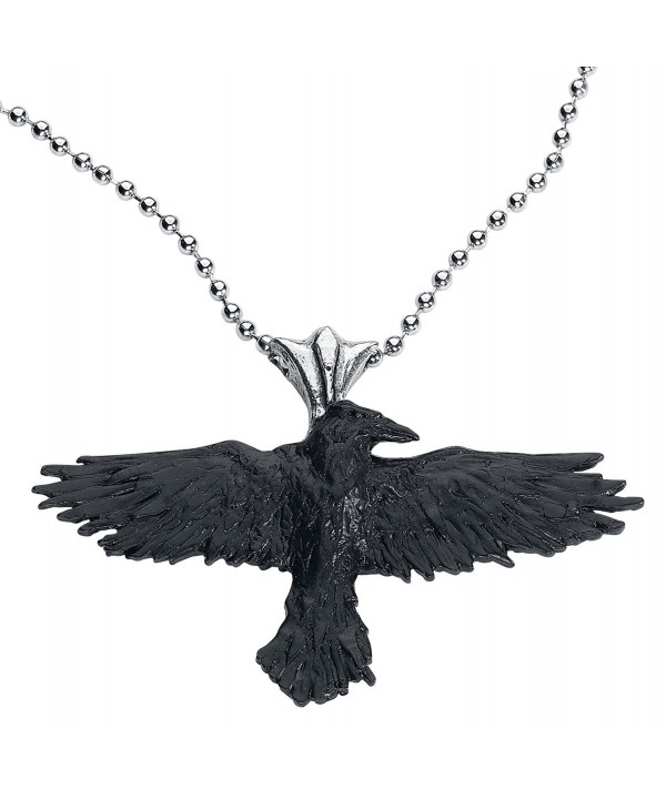 Black Raven Alchemy Gothic Necklace
