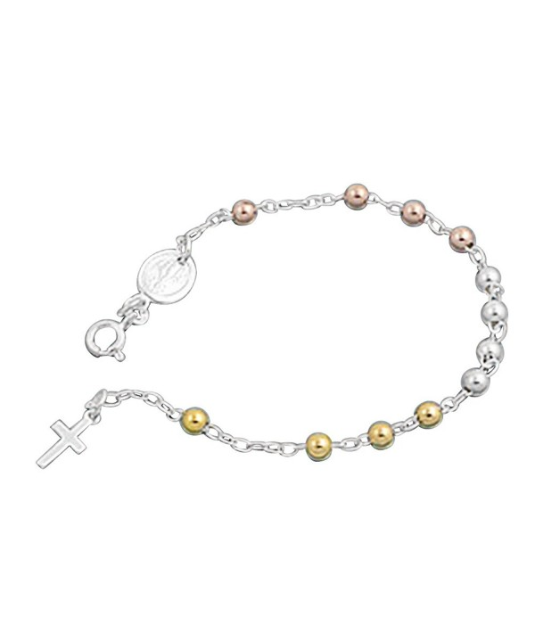 Sterling Silver Yellow Plated Bracelet