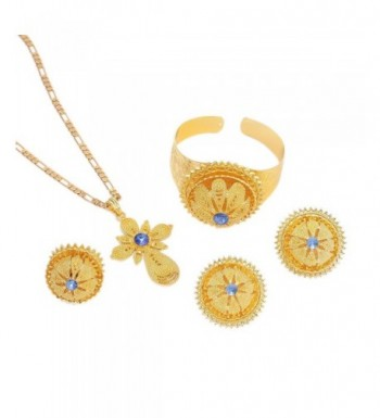 Gold Ethiopian Jewelry Habesha African