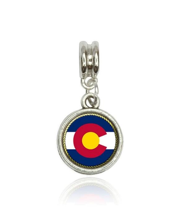 Colorado State European Italian Bracelet
