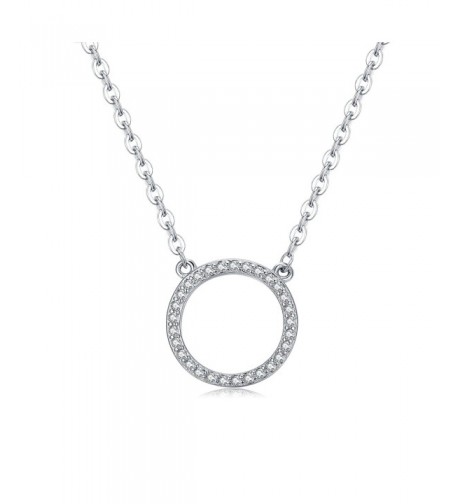 Florensi Sterling Silver Circle Necklace