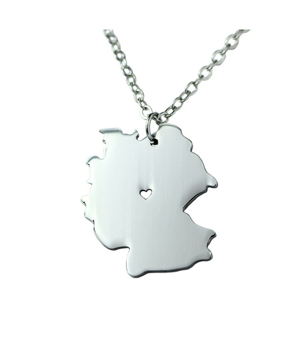 Silver Stainless Pendant Necklace Germany