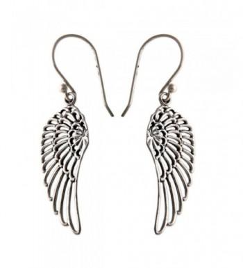 NOVICA Sterling Silver Earrings Angelic