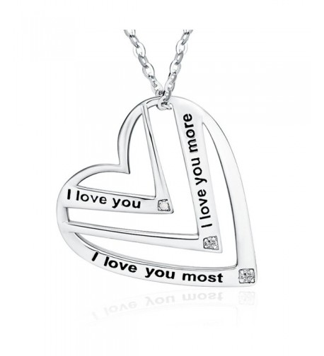 Victoria Jewelry love Engraved Pendant