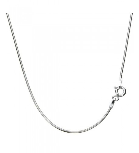 Sterling Silver Snake Nickel Necklace