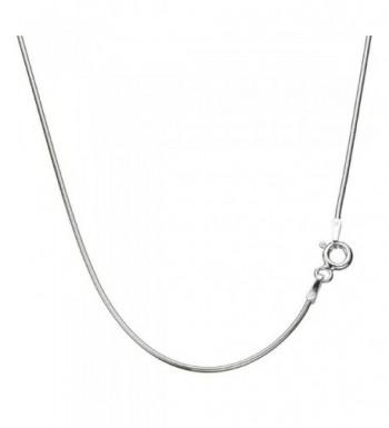 Sterling Silver Snake Nickel Necklace