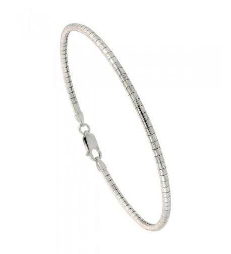 Sterling Silver Round Necklace Nickel
