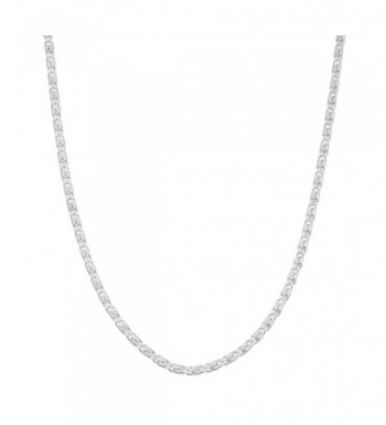 Sterling Silver 1 8mm Tiger Chain