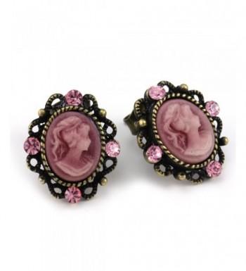 Small Cameo Earrings Fashion Jewelry
