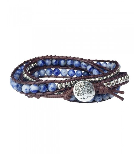 Tree Life Bracelet Sodalite Beaded