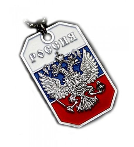 RUSSIA RUSSIAN EAGLE PENDANT NECKLACE