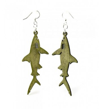 Green Tree Renewable Natural Earrings
