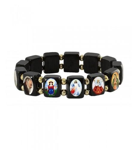 Elasticated Bracelet Catholica Shop Assorted
