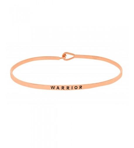 Inspirational Positive Uplifting Engraved Bracelet
