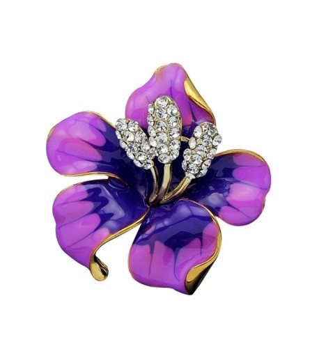 JewelryHouse Vintage Flower Colourful Brooch