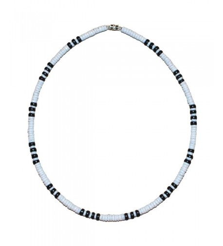 Native Treasure White Heishe Necklace