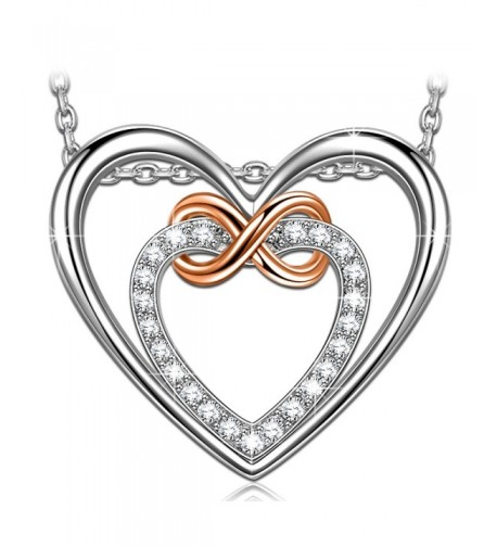 Heart Pendant Necklace PRINCESS NINA