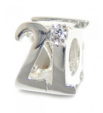 Jewelry Sterling Silver Number Crystal